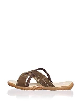 Ortopasso Kid's Slip-On Sandal (Brown)