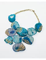 Turquoise Blue stoned necklace