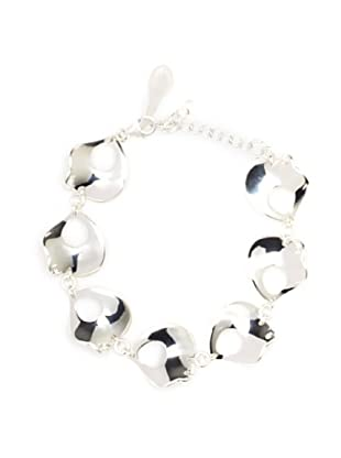 Argento Vivo Shark Fin Line Bracelet, Silver