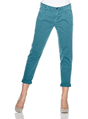 7 for all mankind Chino Boy Stretch Drill (Deep Teal)