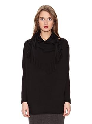 Assuili Camiseta Pañuelo (Negro)