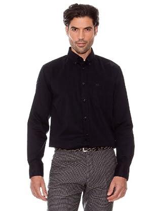 Pedro Del Hierro Camisa Lisa (Negro)