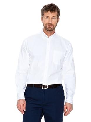 Cortefiel Camisa Lisa (Blanco)