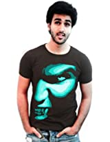 Incynk Men's T-Shirt - MSS13 (Brown)