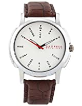 Laurels Maestro 2 Analog Silver Dial Men's Watch ( Lo-Mas-202)