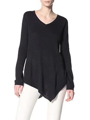 Acrobat Women's Handkerchief Sweater (Navy)