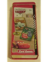 Disney Cars Card Games in Tin Go Fish & Crazy Eights