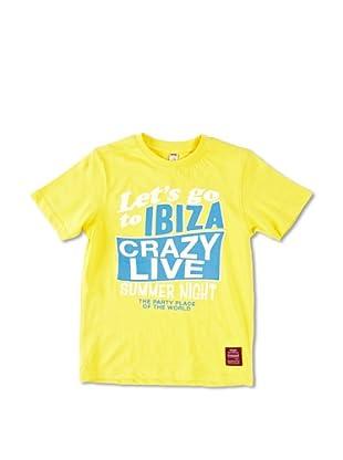 Carrera Jeans Camiseta Bambino G/Collo (Amarillo)