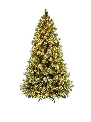 National Tree Company 7.5' Wintry Pine Medium Hinged Tree