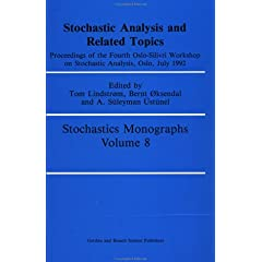 【クリックでお店のこの商品のページへ】Stochastic Analysis and Related Topics (Stochastics Monographs): J.E. Lindstrom: 洋書
