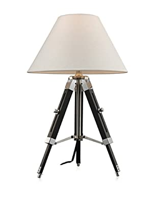 Artistic Lighting Studio Table Lamp, Chrome/Black
