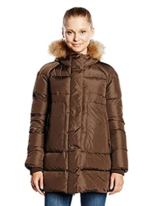 ADD Plumas Down Hooded Parka Detachable  Fur Border