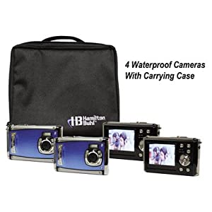 """Ruggedized Four Digital Cameras Kitwith Flash and 2.4"""" LCD, Curriculum Guide"""