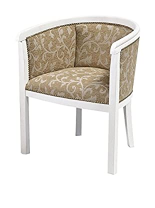 Evergreen Home Sessel weiß/beige