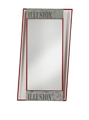 Espejo Illusion Rojo