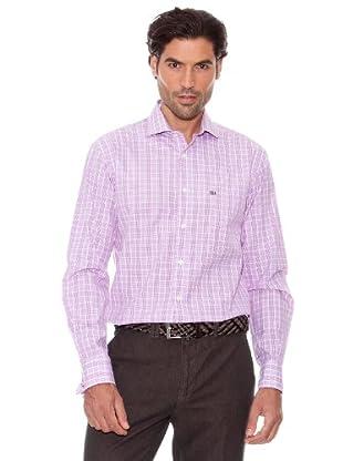 Pedro Del Hierro Camisa Cuadros (Violeta)