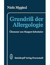 Grundriß der Allergologie