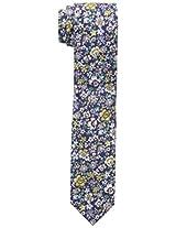 Original Penguin Men's Medvance Floral Tie, Purple, One Size