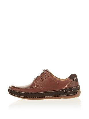Clarks Leder Sneaker Mohave Land (Braun)