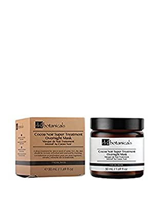 Dr Botanicals Nachtmaske Cocoa Noir Super Treatment Overnight 50 ml, Preis/100 ml: 55.9 EUR