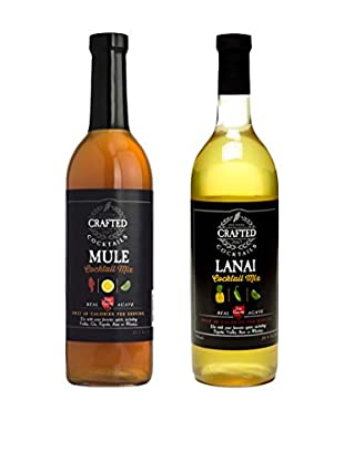 Crafted Cocktails 2-Pack Mule & Lanai All Natural Low Calorie Cocktail Mix