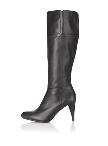 Adrienne Vittadini Women's Shauna-1 Long Boot (Black)