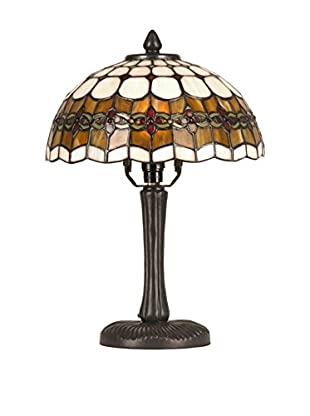Sul Tischlampe Tiffany Gladdys braun