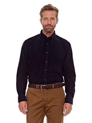 Cortefiel Camisa Pana (Azul Marino)