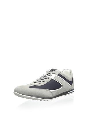 Tod's Men's Project Sneaker (Grey-Blue)