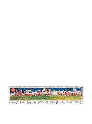 Artopweb Panel de Madera Prenderò L Ultimo Treno Della Sera