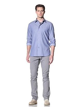 John Varvatos * USA Men's Slim Fit Shirt with Patch Pocket