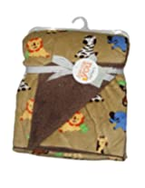 IMPORTED CARTER'S Blanket / Layette - BABY ANIMALS PRINT 76cm X 102cm