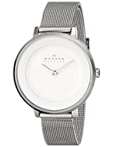 Skagen End-of-Season Ditte Analog Silver Dial Women's Watch - SKW2211