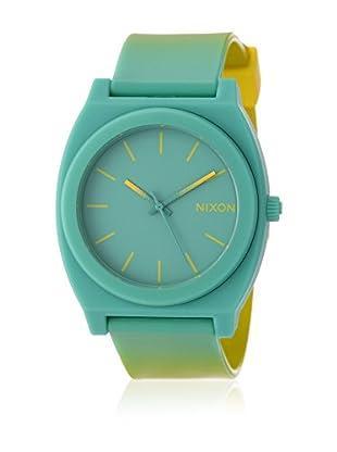 Nixon Uhr mit japanischem Uhrwerk Unisex Time Teller P Matte Thislte Kol Saati  40 mm