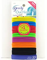 Goody Ouchless Candy Coated Ponytail Hair Elastics - 27 Pk.