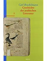 Geschichte der Arabischen Litteratur (GAL)