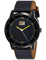 MTV Analog Black Dial Men's Watch - B7018RE