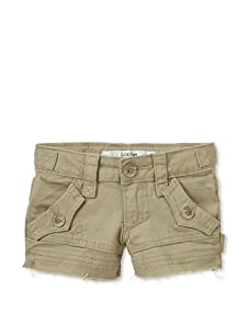 Joe's Jeans Girl's Military Shorts (Tan)