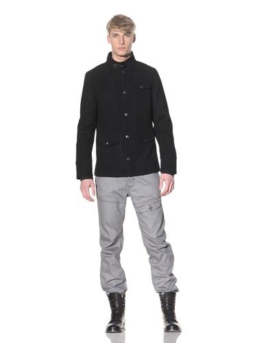 i.am Men's Button-Up Jacket (Black)