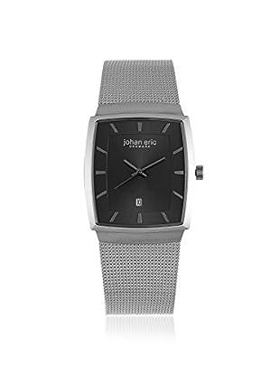 Johan Eric Men's JE1000-04-007 Tondor Silver/Black Stainless Steel Watch