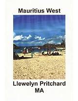 Mauritius West: Souvenir Collection van Kleuren Fotos met bijschriften (Photo Albums)