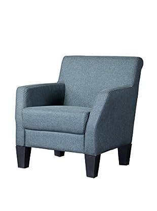 Baxton Studio Silhouettes Club Chair, Grey