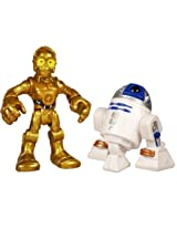 Playskool Heroes, Star Wars, Jedi Force, Exclusive Action Figures, C-3PO & R2-D2, 2-pack