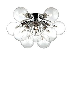 Evergreen Lights Wand- und Deckenlampe Dea PL10 silberfarben
