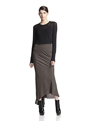 Rick Owens Women's Back Drape Skirt (Dark Dust)