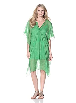 Twelfth St. by Cynthia Vincent Women's Paisley Caftan (Kelly Green)