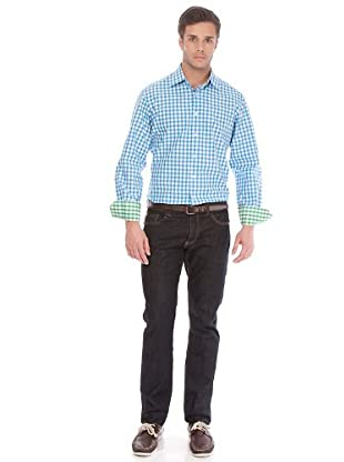 Arrow Camisa Kent (Azul)