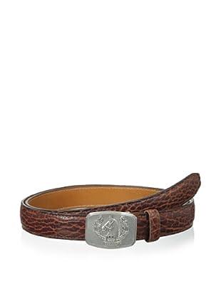 Trafalgar Men's Bison Belt (Chestnut)
