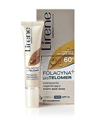 Lirene Augenkonturencreme Folacyna PRO Telomer 60+ 10 SPF  15 ml, Preis/100 ml: 86.33 EUR