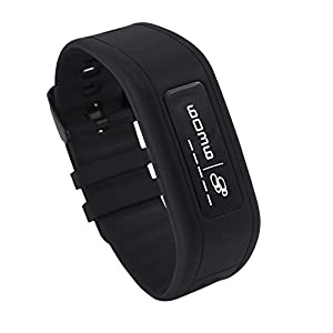 GOQii Life Fitness Band with  6 Months Personal Coaching (Power Black)